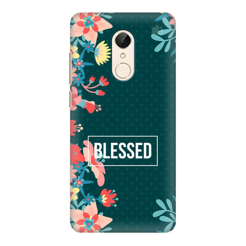 Blessed Floral Xiaomi Redmi 5 Cover