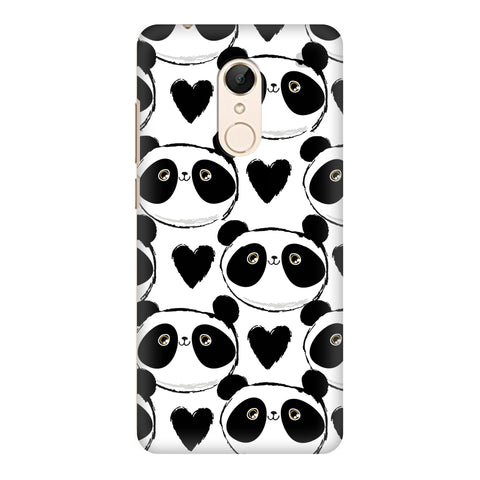 Happy Panda Pattern Xiaomi Redmi 5 Cover