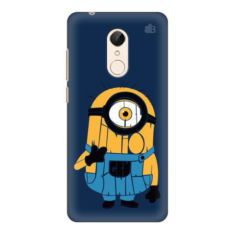 Minion Typography Xiaomi Redmi 5 Cover