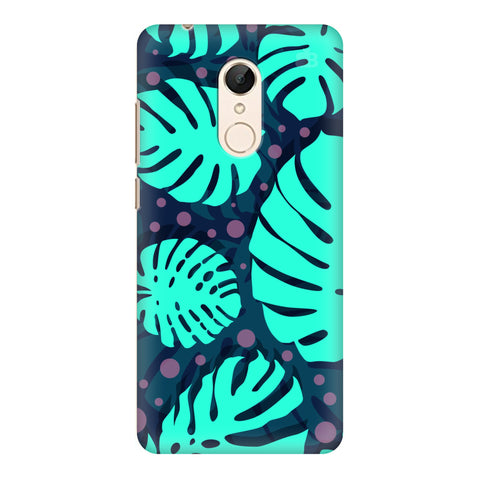 Tropical Leaves Pattern Xiaomi Redmi 5 Cover
