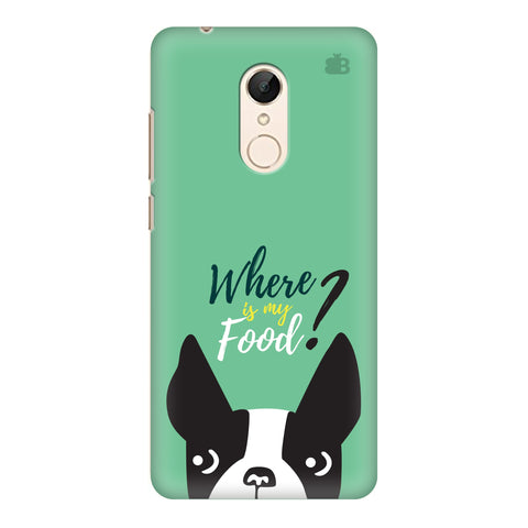 Where is my Food Xiaomi Redmi 5 Cover