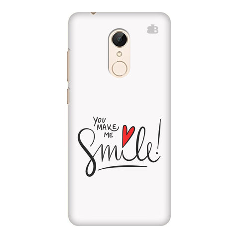You make me Smile Xiaomi Redmi 5 Cover