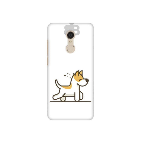 Happy Puppy Xiaomi Redmi 5 Plus Phone Cover