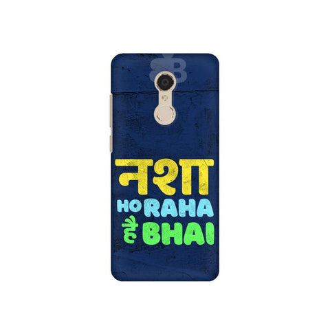 Nasha Bhai Xiaomi Redmi 5 Plus Cover