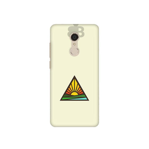 Triangular Sun Xiaomi Redmi 5 Plus Phone Cover