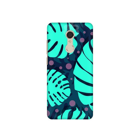 Tropical Leaves Pattern Xiaomi Redmi 5 Plus Phone Cover