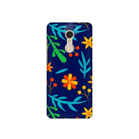 Vibrant Floral Pattern Xiaomi Redmi 5 Plus Phone Cover