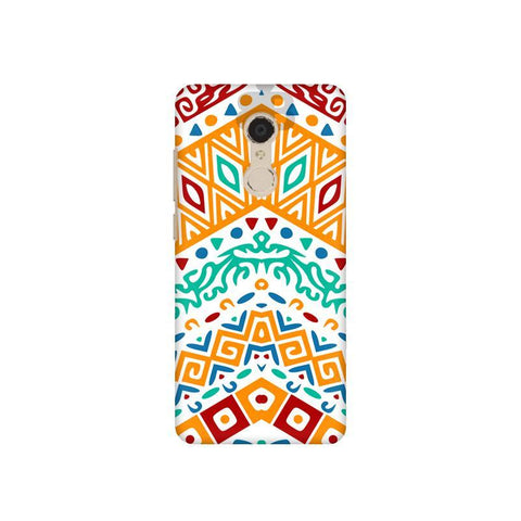 Wavy Ethnic Art Xiaomi Redmi 5 Plus Phone Cover