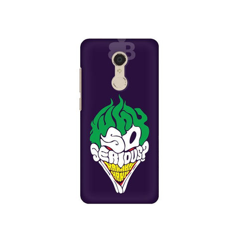 Why So Serious Xiaomi Redmi 5 Plus Phone Cover