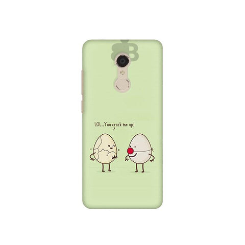 You Crack me up Xiaomi Redmi 5 Plus Phone Cover