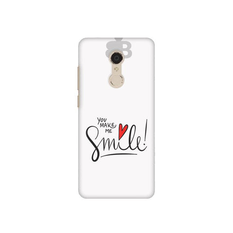 You make me Smile Xiaomi Redmi 5 Plus Phone Cover