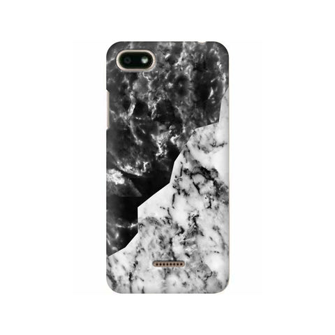 Black White Marble Xiaomi Redmi 6A Cover