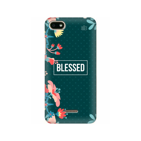 Blessed Floral Xiaomi Redmi 6A Cover
