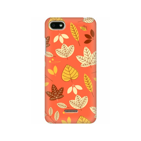 Cute Leaves Pattern Xiaomi Redmi 6A Cover