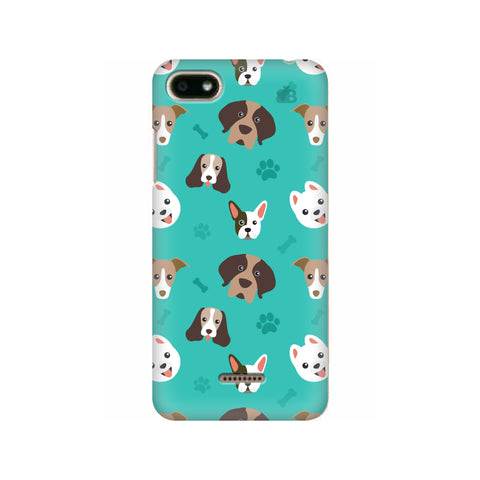 Doggie Pattern Xiaomi Redmi 6A Cover