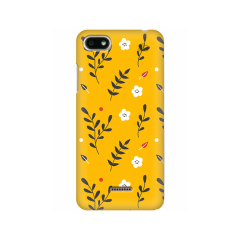 Summer Floral Pattern Xiaomi Redmi 6A Cover
