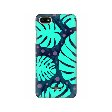 Tropical Leaves Pattern Xiaomi Redmi 6A Cover