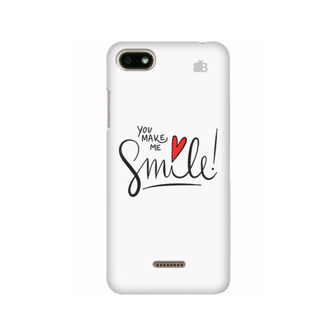You make me Smile Xiaomi Redmi 6A Cover
