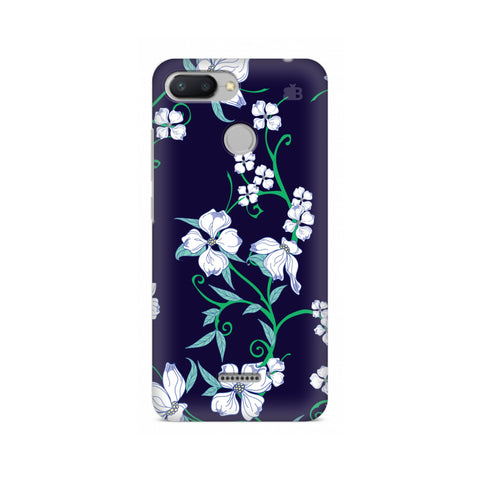Dogwood Floral Pattern Xiaomi Redmi 6 Cover