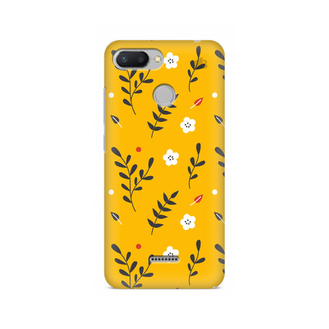 Summer Floral Pattern Xiaomi Redmi 6 Cover
