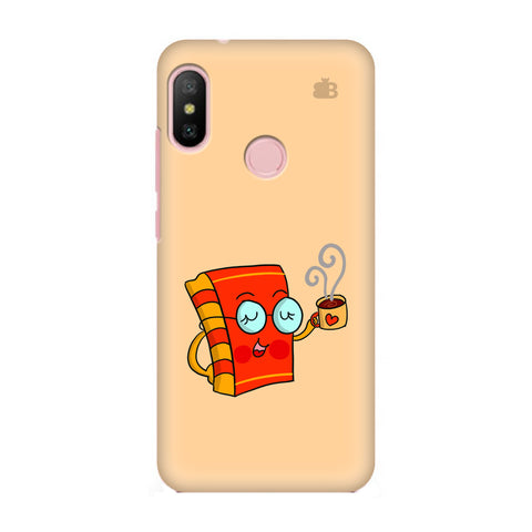 Coffee and Book Xiaomi Redmi 6 Pro Cover