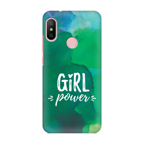 Girl Power Xiaomi Redmi 6 Pro Cover