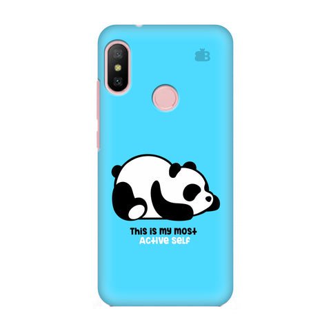 Most Active Panda Xiaomi Redmi 6 Pro Cover