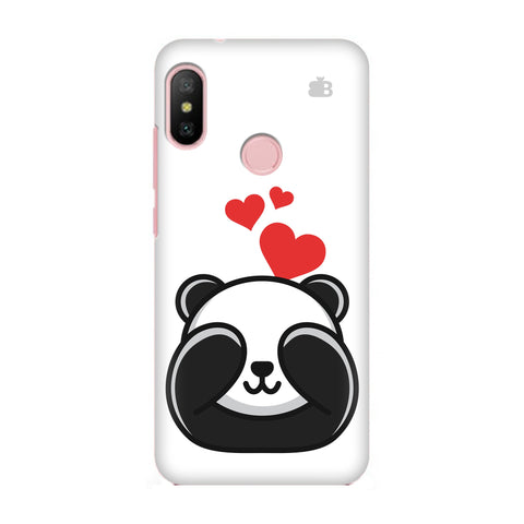 Panda In Love Xiaomi Redmi 6 Pro Cover