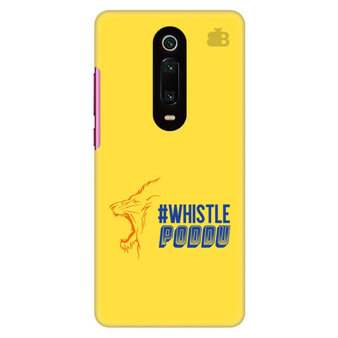 Chennai Super Kings Xiaomi Redmi K20 Pro Cover