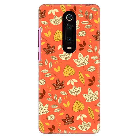 Cute Leaves Pattern Xiaomi Redmi K20 Pro Cover