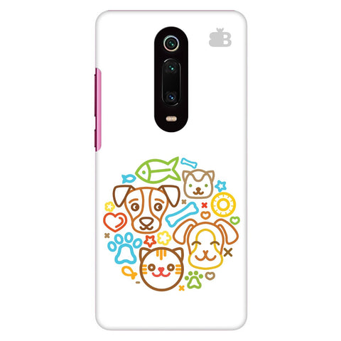 Cute Pets Xiaomi Redmi K20 Cover
