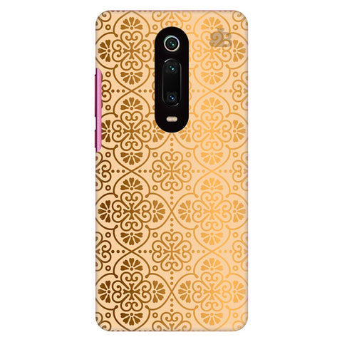 Ethnic Gold Ornament Xiaomi Redmi K20 Pro Cover