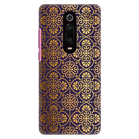 Gold Ornament Xiaomi Redmi K20 Pro Cover