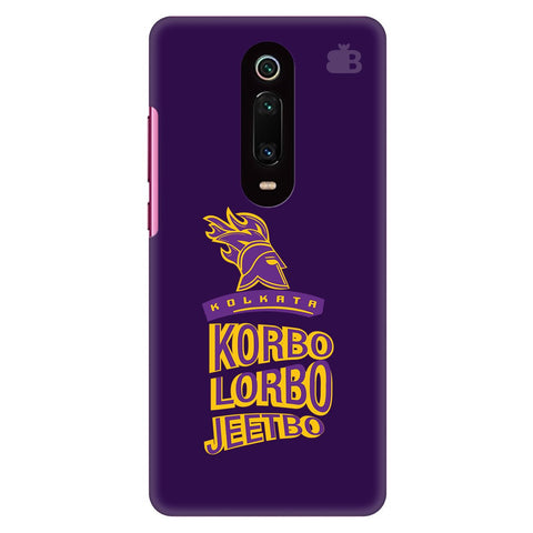 Kolkata Knight Xiaomi Redmi K20 Cover