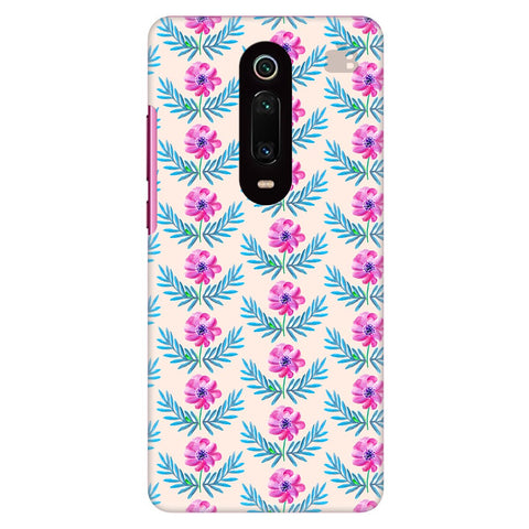Pink Watercolor Pattern Xiaomi Redmi K20 Pro Cover