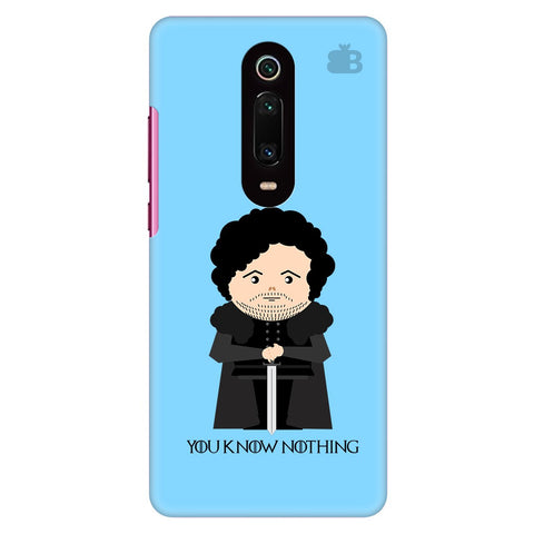 You Know Nothing Xiaomi Redmi K20 Pro Cover