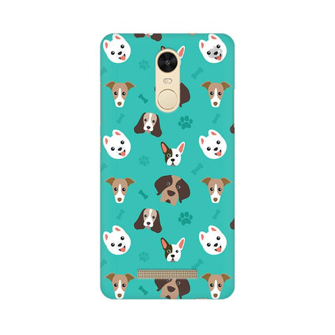 Doggie Pattern Xiaomi Redmi Note 3 Phone Cover