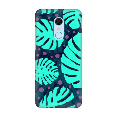 Tropical Leaves Pattern Xiaomi Redmi Note 5 Cover