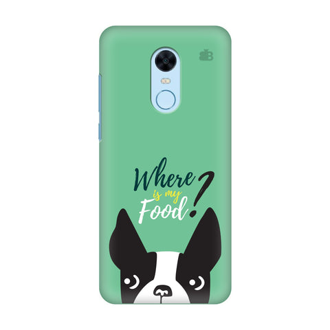 Where is my Food Xiaomi Redmi Note 5 Cover