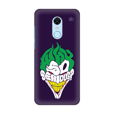 Why So Serious Xiaomi Redmi Note 5 Cover