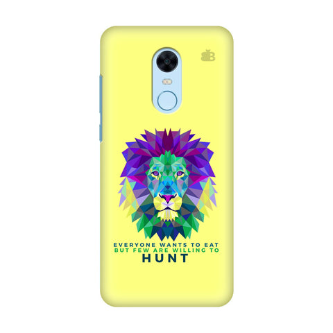 Willing to Hunt Xiaomi Redmi Note 5 Cover