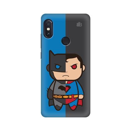 Cute Superheroes Annoyed Xiaomi Redmi Note 5 Pro Cover