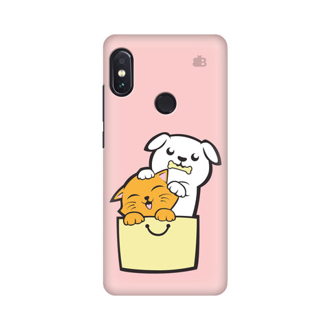 Kitty Puppy Buddies Xiaomi Redmi Note 5 Pro Cover