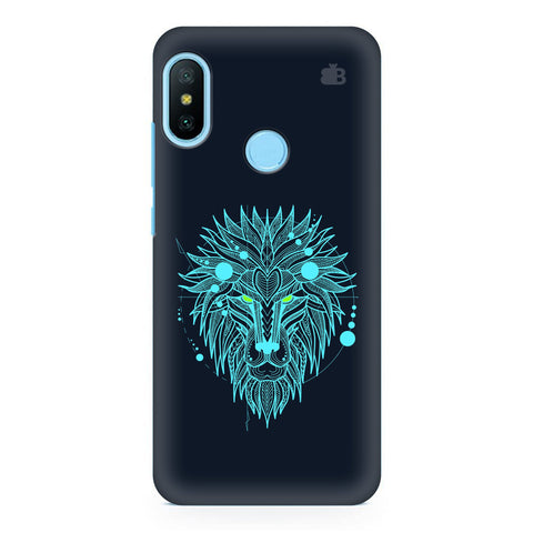 Abstract Art Lion Xiaomi Redmi Note 6 Pro  Cover