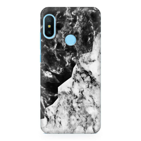 Black White Marble Xiaomi Redmi Note 6 Pro  Cover