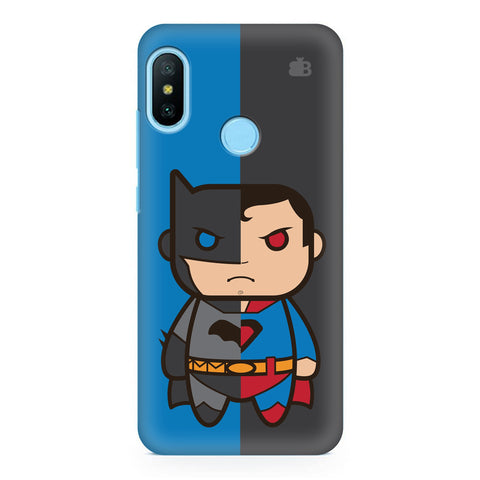Cute Superheroes Annoyed Xiaomi Redmi Note 6 Pro  Cover