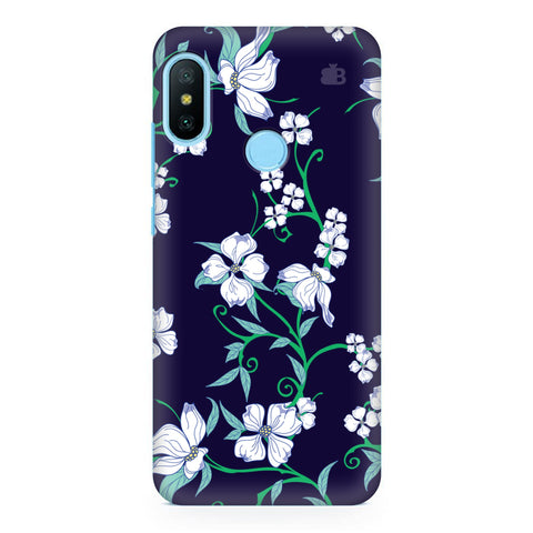 Dogwood Floral Pattern Xiaomi Redmi Note 6 Pro  Cover
