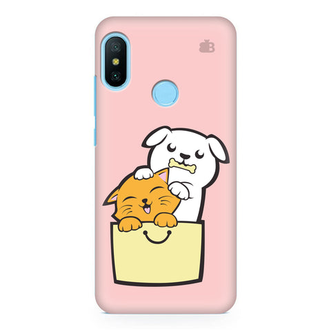 Kitty Puppy Buddies Xiaomi Redmi Note 6 Pro  Cover