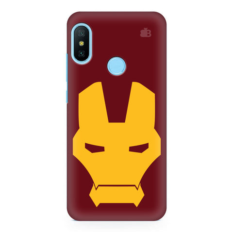 Superhero Mask Xiaomi Redmi Note 6 Pro  Cover