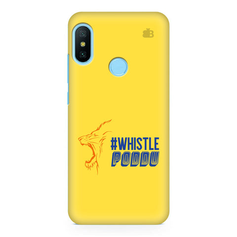 Chennai Super Kings Xiaomi Redmi Note 6 Pro Cover